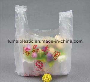 White Plastic T-Shirt Packaging Plastic Carrier Bag