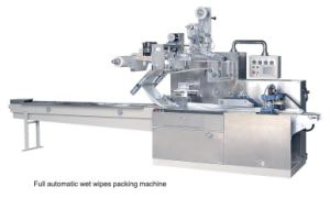 Dwb-500 Reciprocating Pillow-Type Wet Tissue Packing Machine pictures & photos