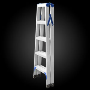 """a""Shape Thicken Foldable Aluminum Step Ladder pictures & photos"