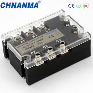 3 Phases Solid State Relay SSR 80A pictures & photos