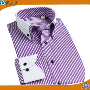 Dress Shirt for Men Cotton Slim Fit Casual Shirts Men pictures & photos