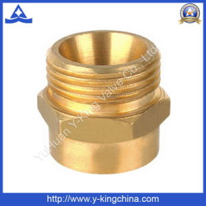 Forged Brass Nipple Threaded Fitting (YD-6005) pictures & photos