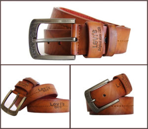 Casual Fashion Genuine Leather Belt for Men pictures & photos