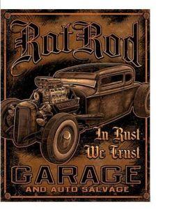"""New Vintage Amercian """"Born to Ride"""" Metal Wall Plaque Tin Sign Wall Decor pictures & photos"""