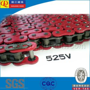 High Quality O-Ring Motorcycle Chain 525V pictures & photos