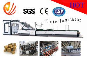 High Speed Servo Control Flute Laminating Machine pictures & photos