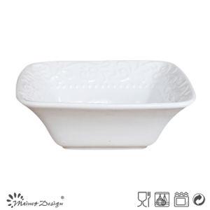 Ceramic Square Bowl White Color pictures & photos