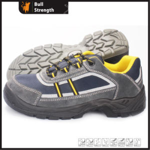 Industrial Leather Safety Shoes with PU Sole (SN5397) pictures & photos