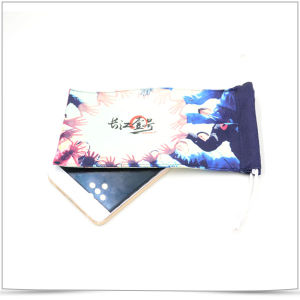 Personalized High Qualith Microfiber Phone Pouch pictures & photos