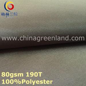 Pongee Polyester Taffeta Plain Fabric for Garment Lining (GLLML297) pictures & photos