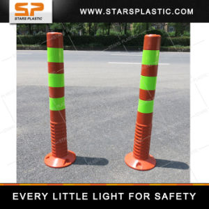 750mm PU Road Delineator Reflective Warning Post pictures & photos