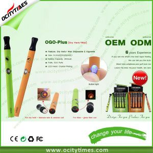 Dry Herb Vaporizer Pen/Wax Skillet Vaporizer/Wax Disposable E Cig in Stock pictures & photos