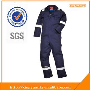 Factory Navy 100%Cotton OEM/ODM Oil Field Coverall