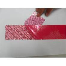 Tamper Evident Void Security Sealing Tape pictures & photos