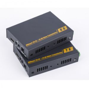 4k 100m HDMI Kvm Extender (HDMI Extender RS232) pictures & photos