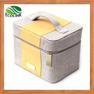 Vintage Linen Box/ Jute Carrying Case pictures & photos