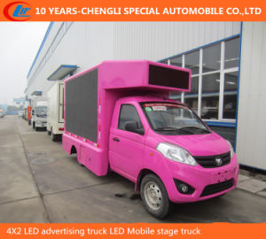 4X2 LED Advertising Truck with Lifting Function pictures & photos