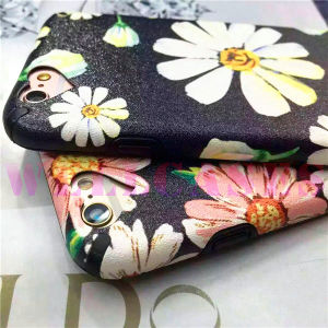 New Painting Daisy Flower Phone Case for iPhone 6/6plus pictures & photos