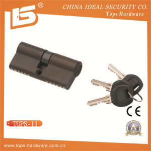 Brass Normal Key Lock Cylinder (TOPS-11) pictures & photos