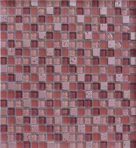 4mm Swimming Pool Mosaic, Mosaic Wall Tile, Crystal Glass Mosaic pictures & photos