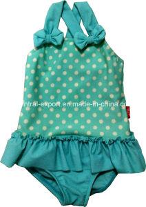 Allover DOT Print Girl Swimwear pictures & photos