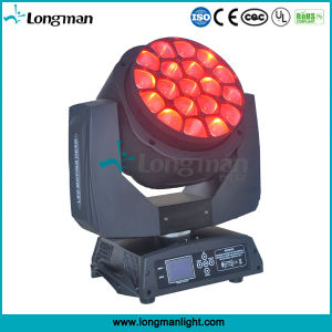 UL19PCS 15W RGBW 4in1 Moving Head LED Effect Lights for Disco pictures & photos