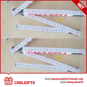 2016 Hot Germany Style 2m 10 Folds Wooden Folding Ruler pictures & photos