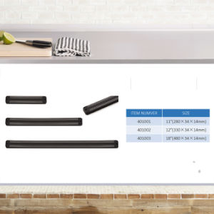 Colorful Plastic Wall Double Kitchen Magnetic Knife Rack pictures & photos