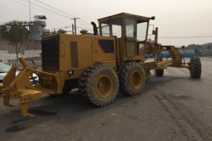 Used 140g Cat Motor Grader, Used Japan Made Grader pictures & photos