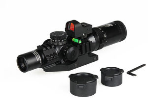 Hunting Military Thermal Airsoft Weapon 1-4X24 Irf Rifle Scope with Red DOT Sight pictures & photos