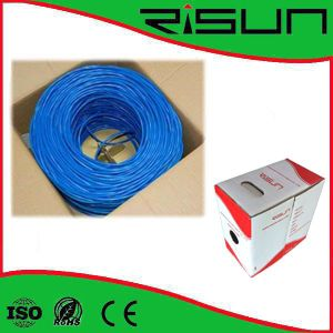 100% Quality Test 350MHz Copper UTP Cable CAT6 4p 24AWG pictures & photos