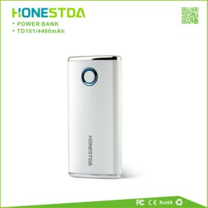 Portable 4400mAh Mobile Power Bank Travel Charger with LED Flashlight pictures & photos