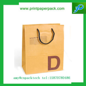High Quanlity Custom Printing Logo Carboard Paper with Rope Handle pictures & photos