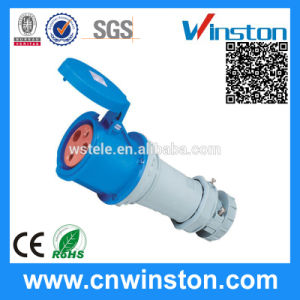 IP44 63A Weatherproof Industrial Plug Socket with CE pictures & photos
