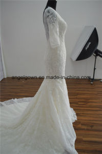 Long Bridal Mermaid Wedding Dress pictures & photos
