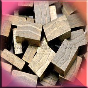 High Quality Block Cutting Marble Segment