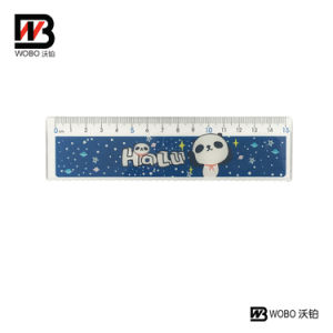 Colorful Animal School Stationery Plastic Ruler for Office