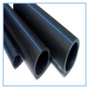 PE 80/100 Raw Material PE Pipe with Pn16/12.5/10/8/6 pictures & photos