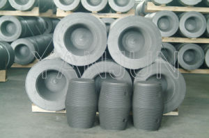 Dia200mm Graphite Electrode with Nipples pictures & photos