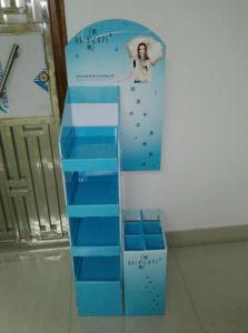 Cmyk Printed Cardboard POS Display, Floor Display Rack pictures & photos
