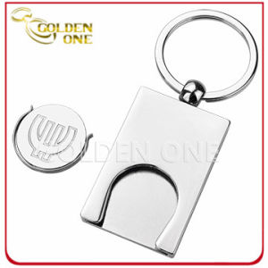 Factory Direct Supply Metal Trolley Coin Holder Key Chain pictures & photos