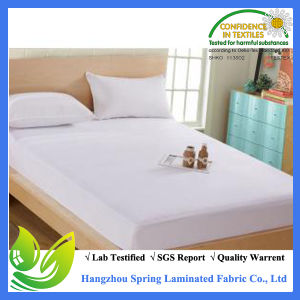 Made in China Anti Bacterial Waterproof Bed Bug Terry Material Mattress Protector pictures & photos