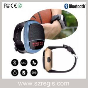 Portable Multimedia Smart Watch Bluetooth Speaker Support TF Card MP3 pictures & photos