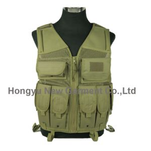 Factory Military Security Camouflage Tactical Vest (HY-V029) pictures & photos