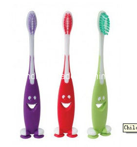 Fashing Children Toothbrushes with Sucker pictures & photos