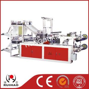 China Rolling&Point Cutting Bag Making Machine pictures & photos