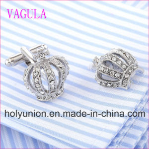 VAGULA Quality Hot Sales Crown Gemelos Cufflinks pictures & photos