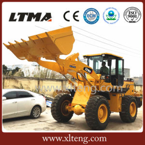 Construction Machinery 3 Ton Wheel Loader with 3400mm Dumping Height pictures & photos