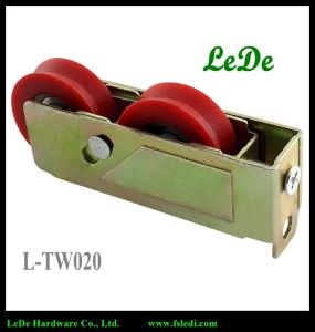 Royal Window Wheel Steel Frame Nylon Roller Steel Bearing L-Tw020 pictures & photos