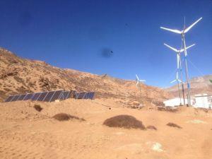 3kw Horizontal Axis Wind Turbine Generator & Solar Panel Hybrid System pictures & photos